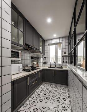 80平米北欧风格厨房欣赏图