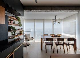 70平米日式風格餐廳設計圖