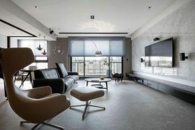 140平米三室两厅现代简约风格客厅装修效果图