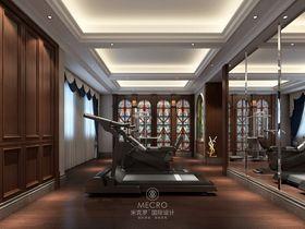140平米别墅法式风格健身室装修案例