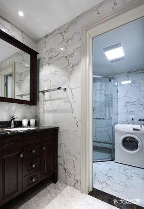 140平米四室两厅美式风格卫生间图片