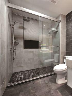 80平米三室一廳北歐風格衛生間設計圖