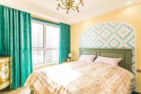 90平米地中海风格卧室设计图