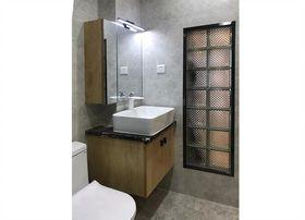 90平米三室一厅现代简约风格卫生间欣赏图