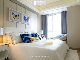 140平米三室两厅现代简约风格卧室装修图片大全