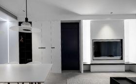 90平米公寓现代简约风格客厅图
