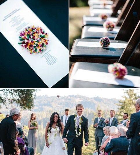 浪漫婚礼创意18个婚礼用得到的好点子