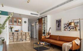 140平米四混搭風格客廳裝修案例