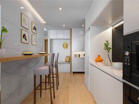 富裕型80平米三室两厅欧式风格厨房效果图