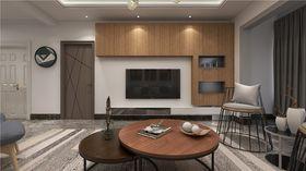 140平米三室兩廳現代簡約風格客廳欣賞圖