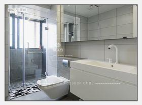110平米现代简约风格卫生间图片