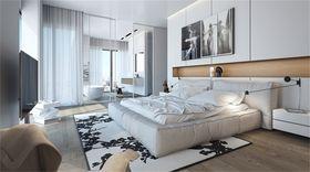 140平米四室四厅现代简约风格卧室装修图片大全