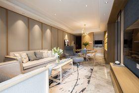 90平米三室一廳其他風格客廳圖