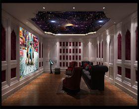 20万以上140平米别墅新古典风格影音室设计图