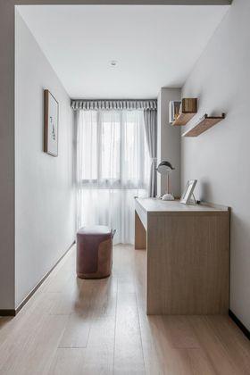 120平米三室两厅中式风格书房装修案例