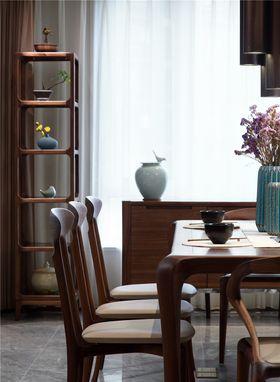 90平米三室两厅中式风格餐厅图片大全