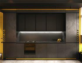 50平米一室一厅混搭风格厨房欣赏图