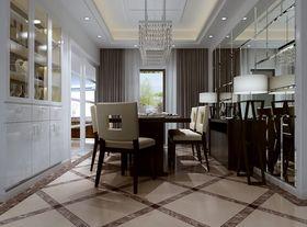 豪华型140平米三室两厅新古典风格餐厅设计图