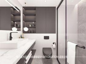 50平米复式现代简约风格卫生间装修案例