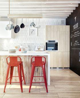 120平米四室两厅北欧风格厨房装修案例