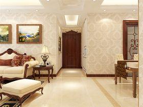 120平米三室两厅新古典风格玄关图
