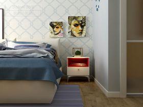 现代简约风格卧室装修案例
