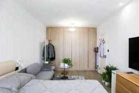 50平米一室一厅北欧风格卧室装修效果图