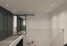 60平米美式风格楼梯间欣赏图
