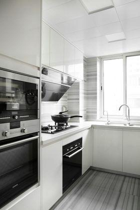 3-5万90平米三室两厅北欧风格厨房欣赏图
