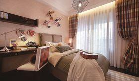 80平米三东南亚风格卧室装修图片大全