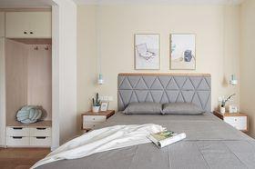 60平米日式风格卧室装修效果图