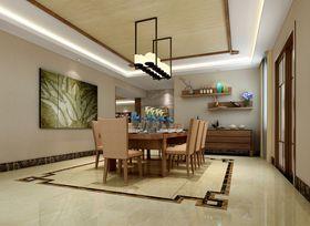 140平米别墅东南亚风格餐厅设计图
