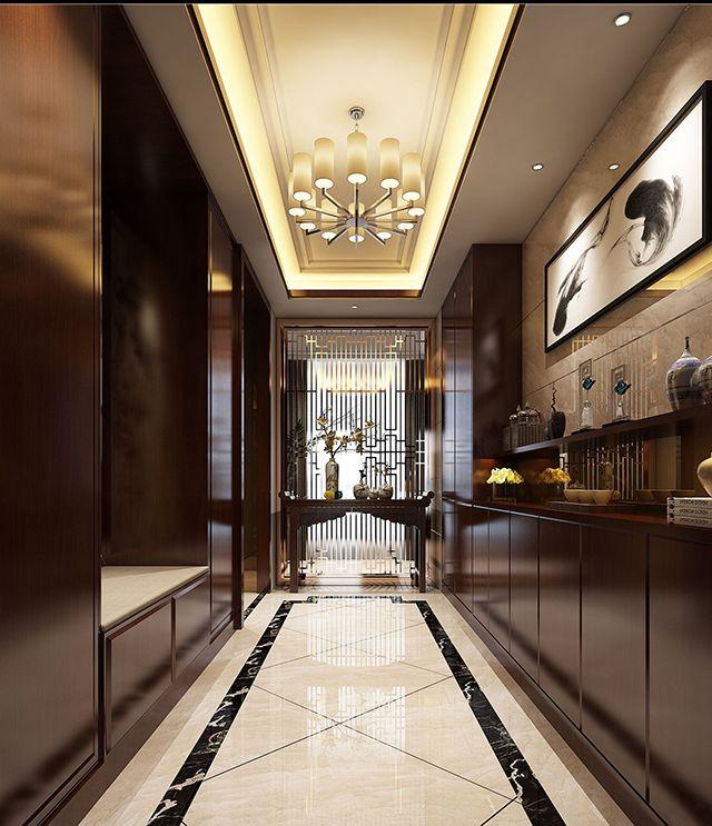 在家庭装饰中,人们往往会忽略过道吊顶的处理,认为就过道天花板对于整个空间的装饰性非常弱,其实不然,一款造型独特、创意十足的过道吊顶在整个空间视觉效果上起到了画龙点睛的作用,不仅让空间视觉效果得到极大提升,对于房间的区域划分也起着非常重要的作用。接下来小编送上为您整理的过道吊顶效果图。