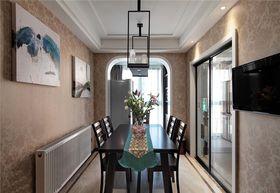 5-10万120平米三室两厅现代简约风格餐厅效果图