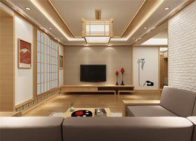 70平米日式風格客廳裝修圖片大全