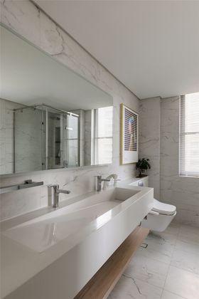 140平米三室一廳現代簡約風格衛生間圖片大全
