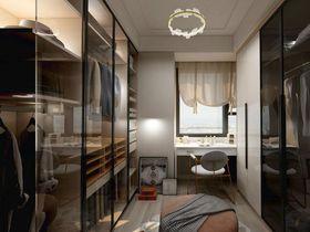 120平米四室两厅现代简约风格衣帽间装修案例
