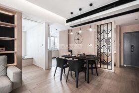 130平米三室兩廳現代簡約風格餐廳裝修效果圖