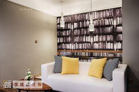 120平米三室两厅混搭风格书房设计图