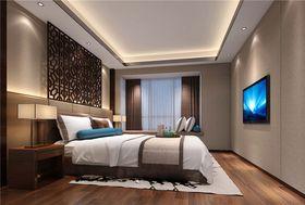 140平米三室两厅中式风格卧室图片大全