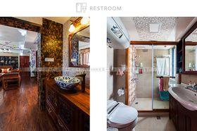 20万以上140平米三室两厅中式风格卫生间效果图