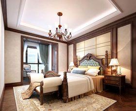 140平米四室兩廳美式風格臥室圖