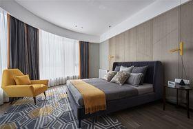 140平米別墅現代簡約風格臥室設計圖