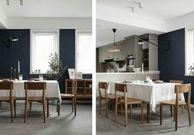 140平米四室三厅混搭风格餐厅图片