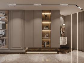 80平米英伦风格客厅装修案例