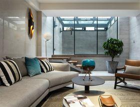 140平米现代简约风格阳光房欣赏图