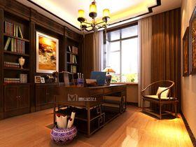 20万以上140平米四室两厅中式风格书房设计图