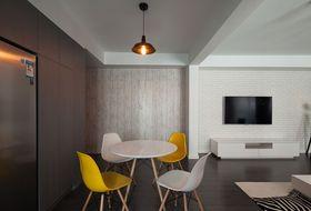 经济型100平米混搭风格客厅装修效果图