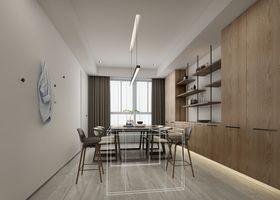 140平米四室两厅现代简约风格餐厅装修案例