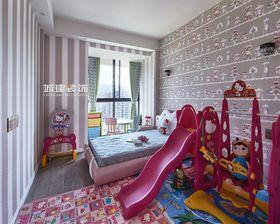 140平米三室两厅混搭风格儿童房效果图
